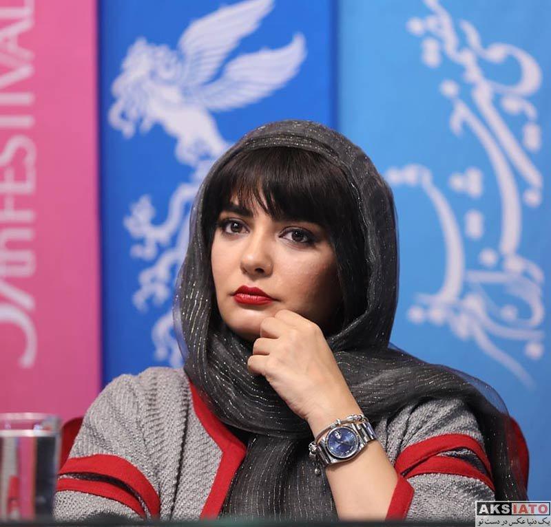 جشنواره فیلم فجر  لیندا کیانی در روز هفتم سی و هفتمین جشنواره فیلم فجر (۶ عکس)