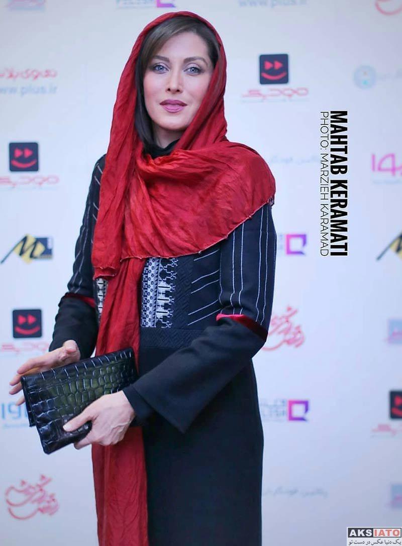 بازیگران بازیگران زن ایرانی  مهتاب کرامتی اکران سریال رقص روی شیشه (6 عکس)
