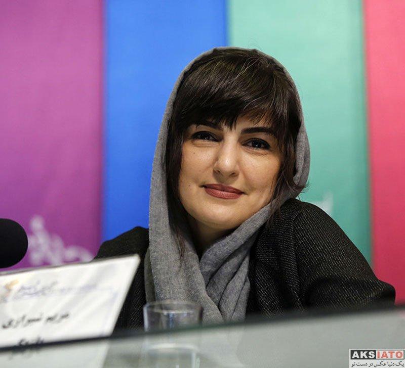 جشنواره فیلم فجر  مریم شیرازی در روز دوم سی و هفتمین جشنواره فیلم فجر (4 عکس)