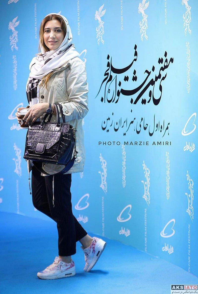 جشنواره فیلم فجر  نیکی مظفری در روز دوم سی و هفتمین جشنواره فیلم فجر (2 عکس)
