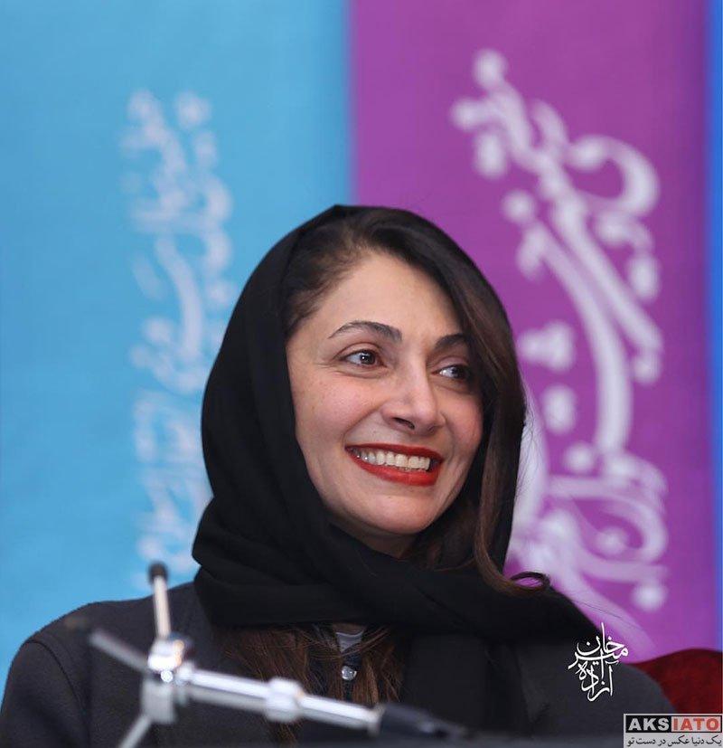 بازیگران بازیگران زن ایرانی  نیلوفر خوش خلق در سی و هفتمین جشنواره فیلم فجر (4 عکس)