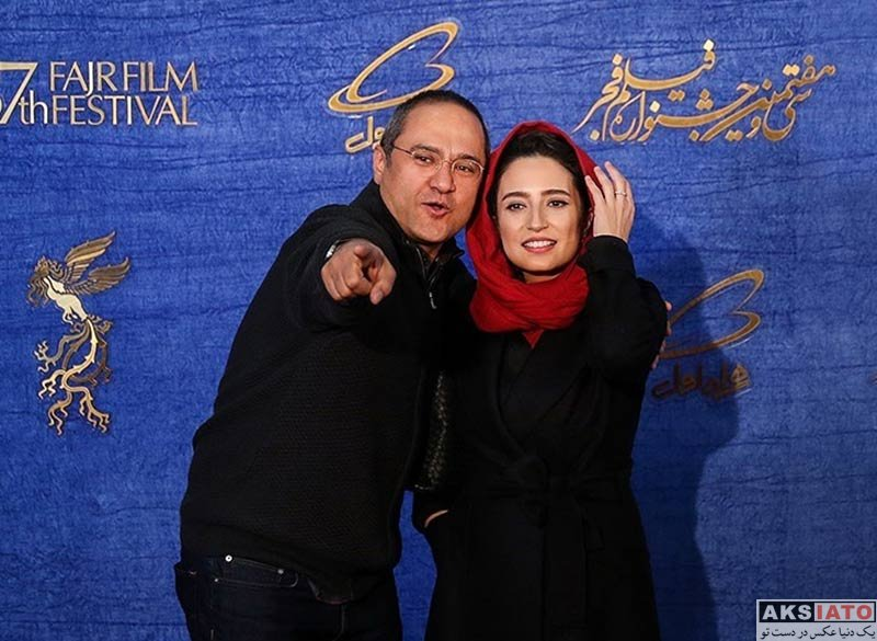 جشنواره جهانی فیلم فجر خانوادگی  رامبد جوان و همسرش در سی و هفتمین جشنواره فیلم فجر (4 عکس)