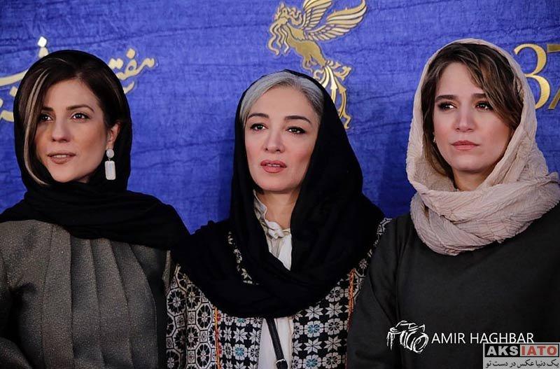 جشنواره فیلم فجر  ستاره پسیانی در روز ششم سی و هفتمین جشنواره فیلم فجر (6 عکس)