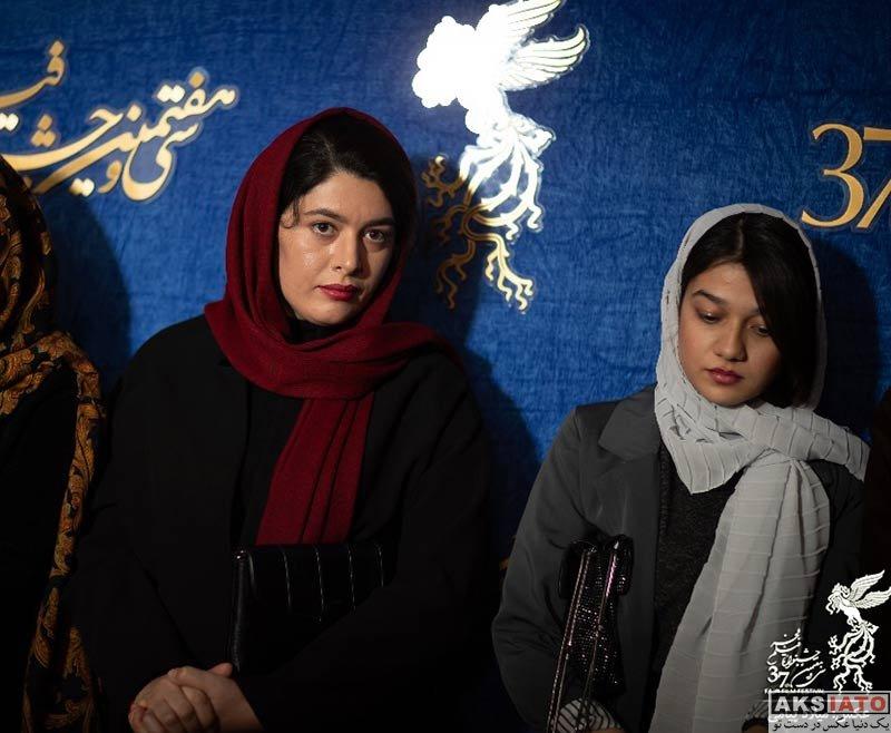 جشنواره فیلم فجر  ژیلا شاهی در روز چهارم سی و هفتمین جشنواره فیلم فجر (۶ عکس)