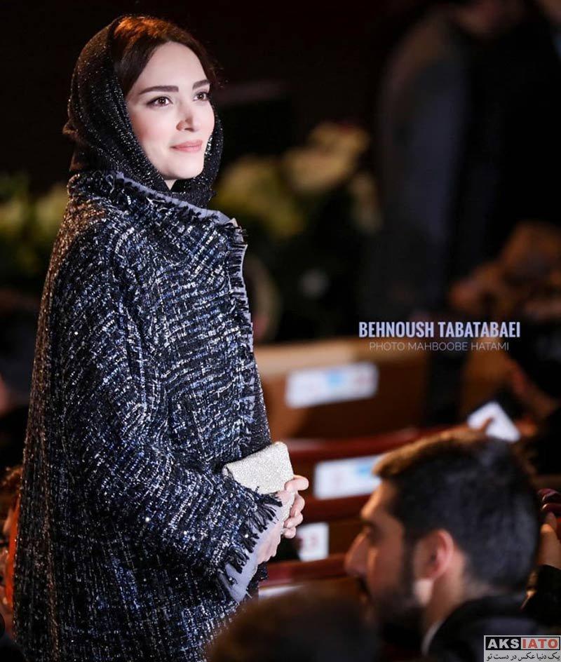 جشنواره فیلم فجر  بهنوش طباطبایی در اختتامیه سی و هفتمین جشنواره فیلم فجر (6 عکس)