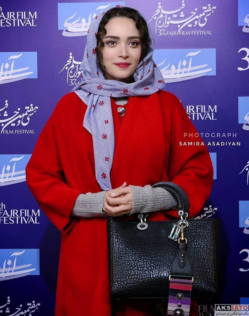 جشنواره فیلم فجر  بهنوش طباطبایی در روز چهارم سی و هفتمین جشنواره فیلم فجر (۶ عکس)