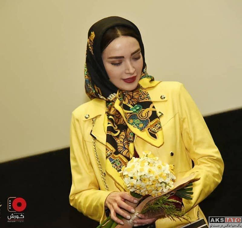 جشنواره فیلم فجر  بهنوش طباطبایی در روز هشتم در سی و هفتمین جشنواره فیلم فجر (۴ عکس)