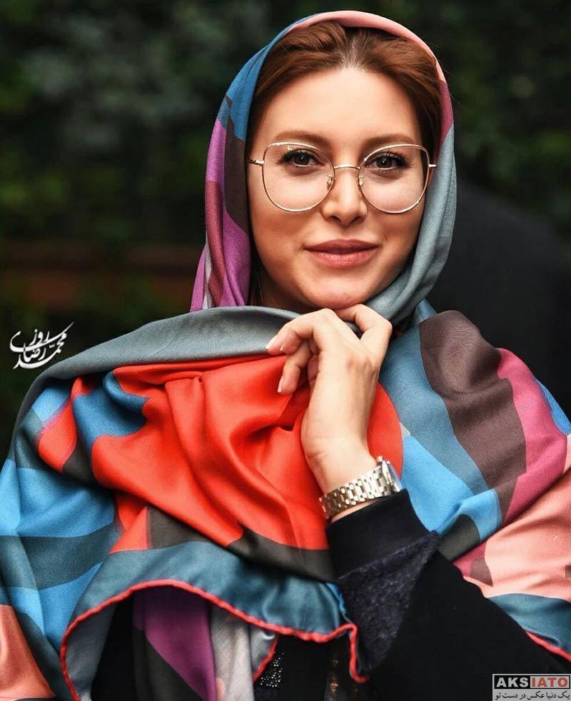 بازیگران بازیگران زن ایرانی  فریبا نادری در جشن افتتاحیه تئاتر مرگ فیدل (۳ عکس)