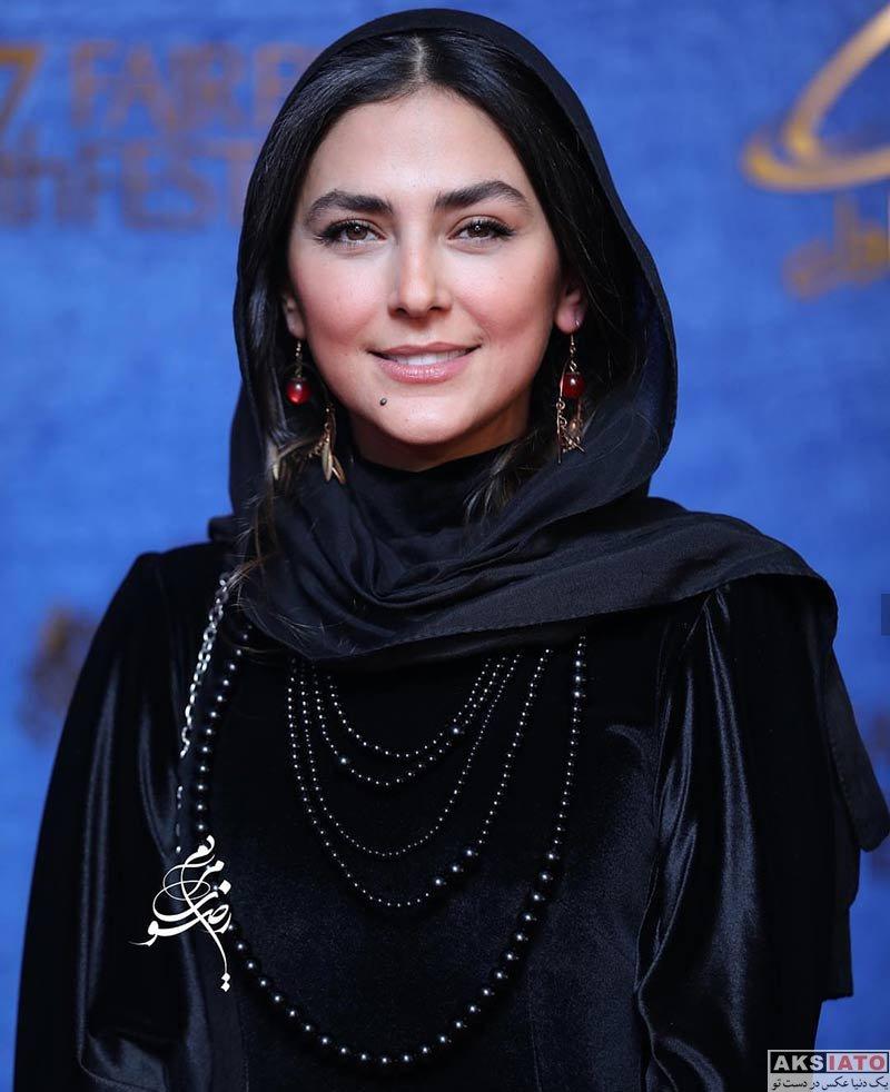 جشنواره فیلم فجر  هدی زین العابدین در روز سوم سی و هفتمین جشنواره فیلم فجر (۶ عکس)