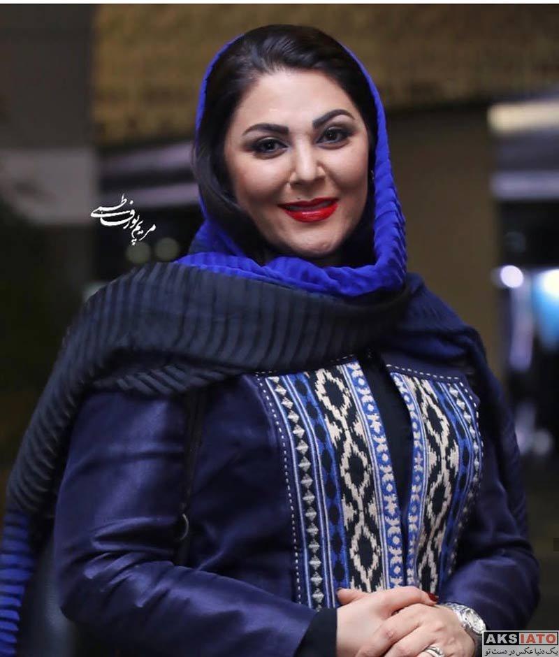 جشنواره فیلم فجر  لاله اسکندری در روز ششم سی و هفتمین جشنواره فیلم فجر (۴ عکس)