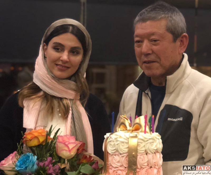 بازیگران جشن تولد ها  جشن تولد 25 سالگی لاله مرزبان (4 عکس)