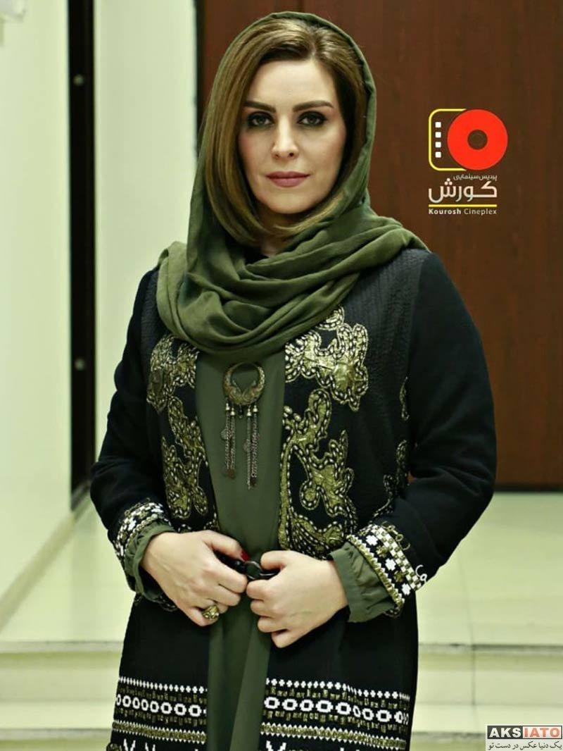 بازیگران بازیگران زن ایرانی  ماه چهره خلیلی در اکران مردمی فیلم قرارمون پارک شهر (۴ عکس)