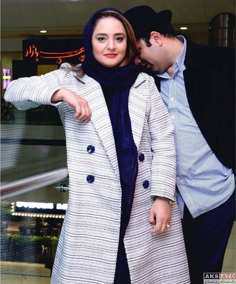 بازیگران بازیگران زن ایرانی  نرگس محمدی در اکران مردمی فیلم قرارمون پارک شهر (4 عکس)