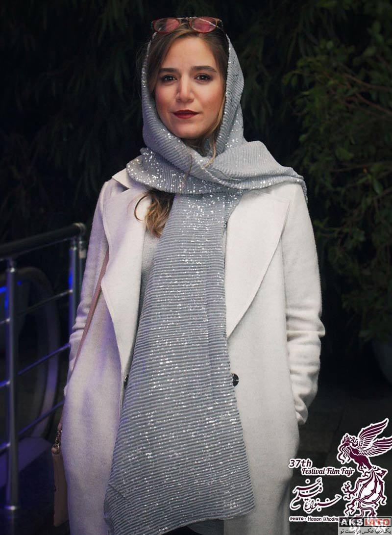جشنواره فیلم فجر  ستاره پسیانی در روز چهارم سی و هفتمین جشنواره فیلم فجر (4 عکس)