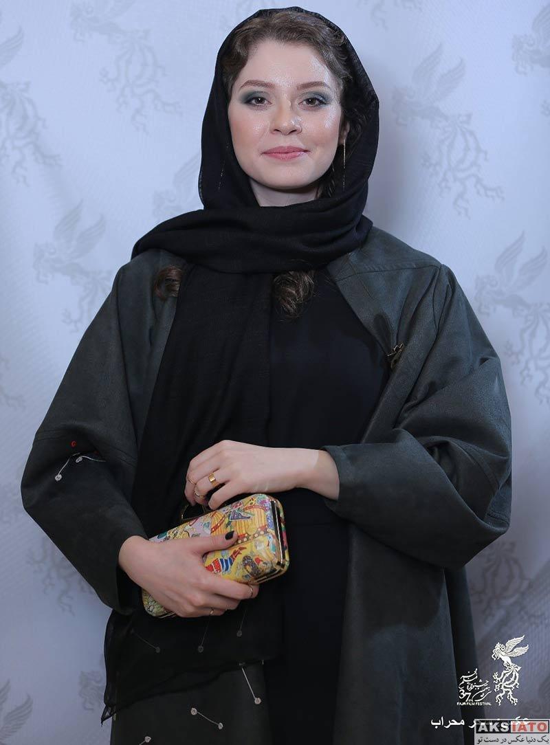 جشنواره فیلم فجر  شادی کرم رودی در روز ششم سی و هفتمین جشنواره فیلم فجر (۶ عکس)