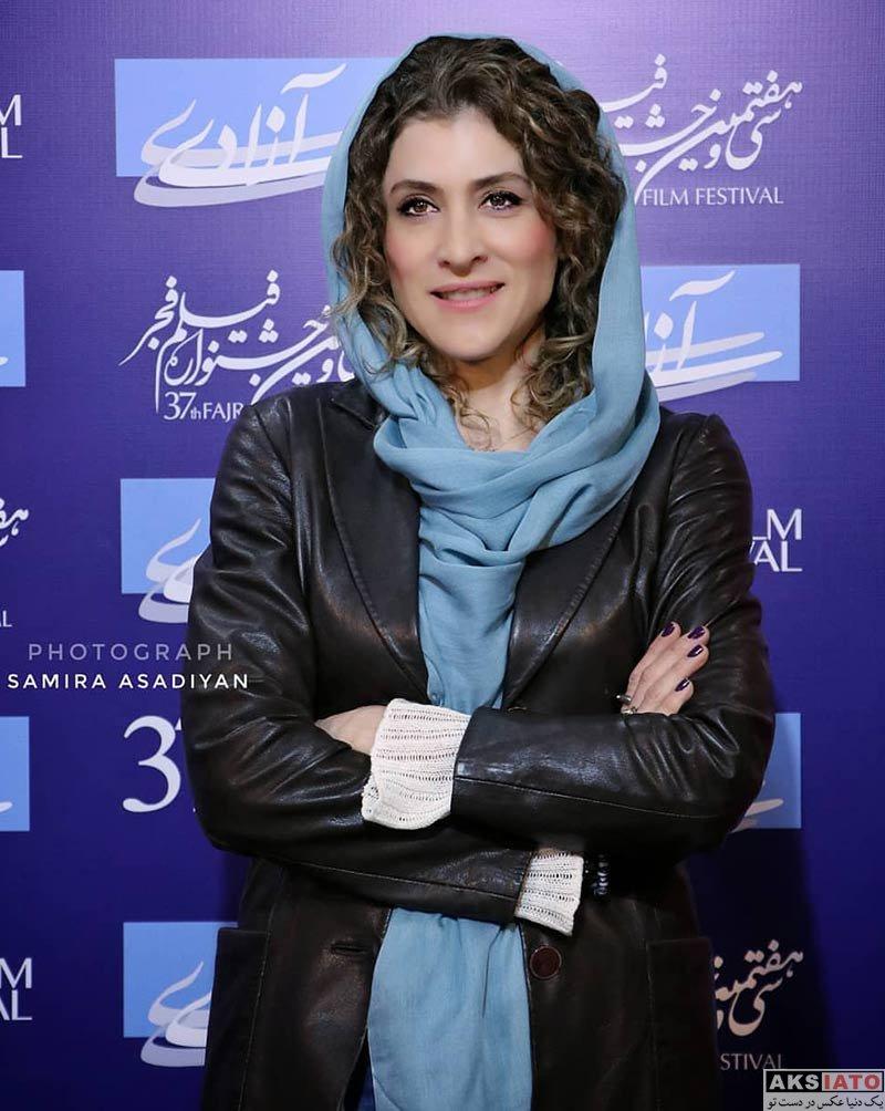 جشنواره فیلم فجر  ویشکا آسایش در روز چهارم سی و هفتمین جشنواره فیلم فجر (۶ عکس)