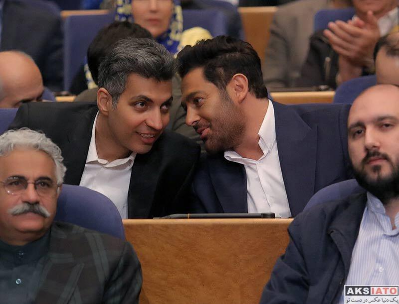 بازیگران بازیگران مرد ایرانی  محمدرضا گلزار در اختتامیه پنجمین دوره جشنواره جامجم (۴ عکس)