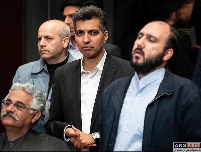 بازیگران مجریان  عادل فردوسی پور در اختتامیه پنجمین دوره جشنواره جامجم (۴ عکس)