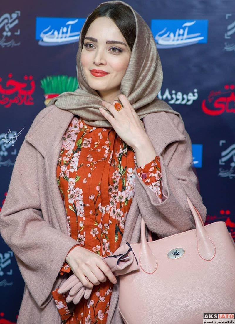 بازیگران بازیگران زن ایرانی  بهنوش طباطبایی در اکران مردمی فیلم سینمایی تختی (۴ عکس)