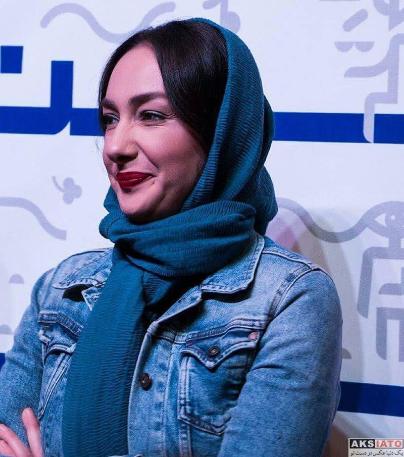 بازیگران بازیگران زن ایرانی  عکس های هانیه توسلی در اکران مردمی فیلم سوءتفاهم در شیراز