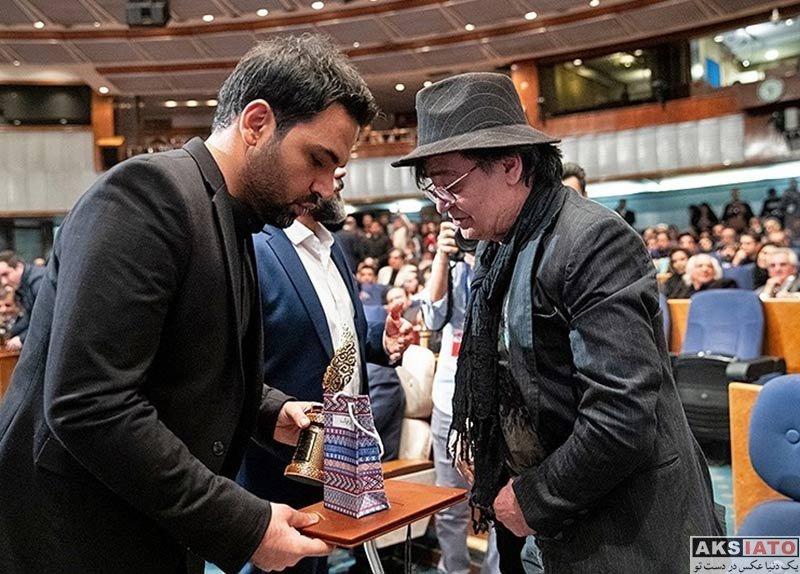 بازیگران جشنواره و مراسم ها  اختتامیه پنجمین دوره جشنواره جام جم (26 عکس)