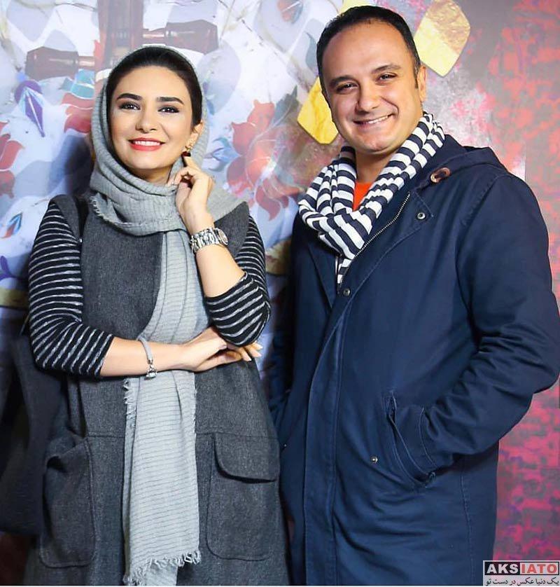 بازیگران بازیگران زن ایرانی  لیندا کیانی در مراسم رونمایی از آلبوم گروه نوشه (3 عکس)
