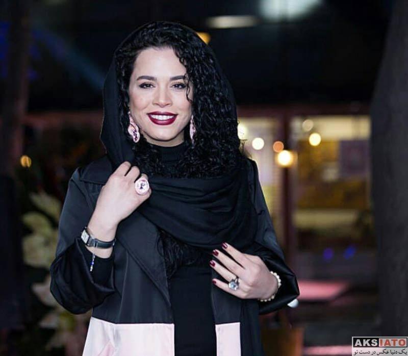 بازیگران بازیگران زن ایرانی  ملیکا شریفی نیا در افتتاحیه رستوران سیامک انصاری (4 عکس)