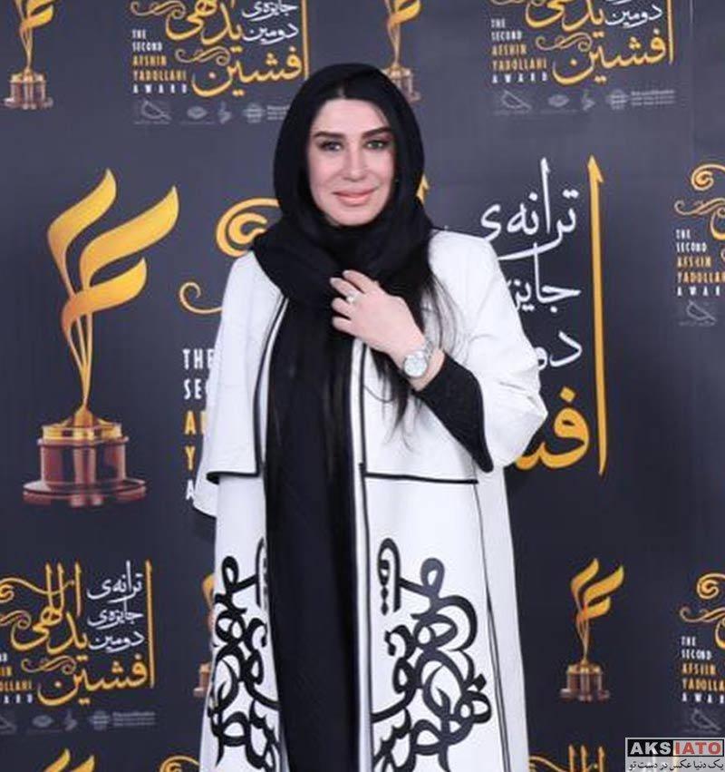 بازیگران بازیگران زن ایرانی  نسیم ادبی در دومین دوره جایزه ترانه افشین یداللهی (3 عکس)