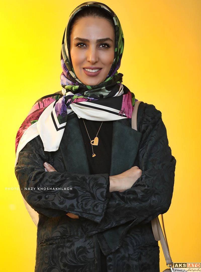 بازیگران بازیگران زن ایرانی  سوگل طهماسبی در جشن امضای کتاب قاصدک سپید (۴ عکس)