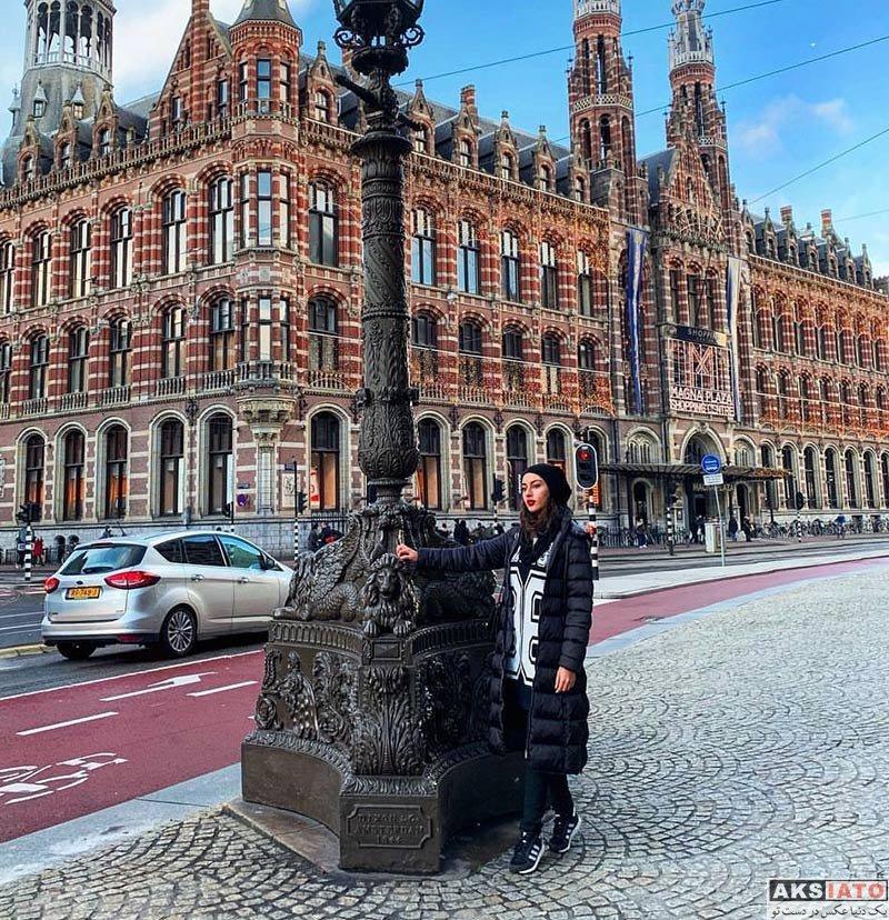 بازیگران بازیگران زن ایرانی  ترلان پروانه در آمستردام هلند (6 عکس)