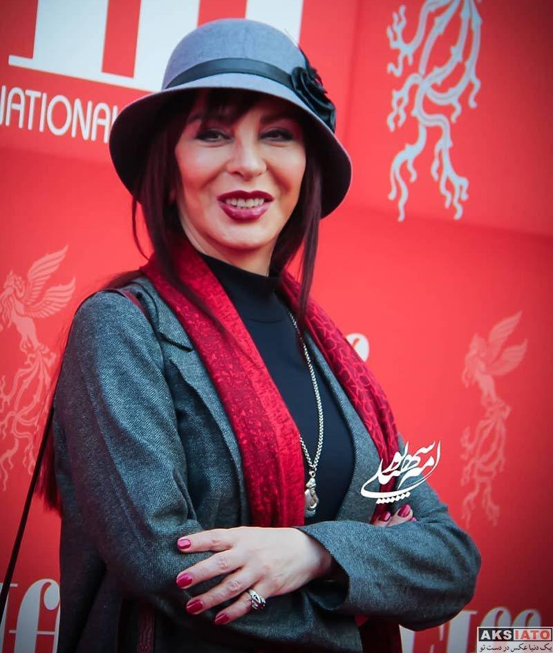افسانه بایگان در اختتامیه سی و هفتمین جشنواره جهانی فیلم فجر (4 عکس)