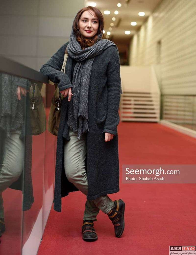 بازیگران بازیگران زن ایرانی جشنواره جهانی فیلم فجر  هانیه توسلی در سی و هفتمین جشنواره جهانی فیلم فجر (6 عکس)