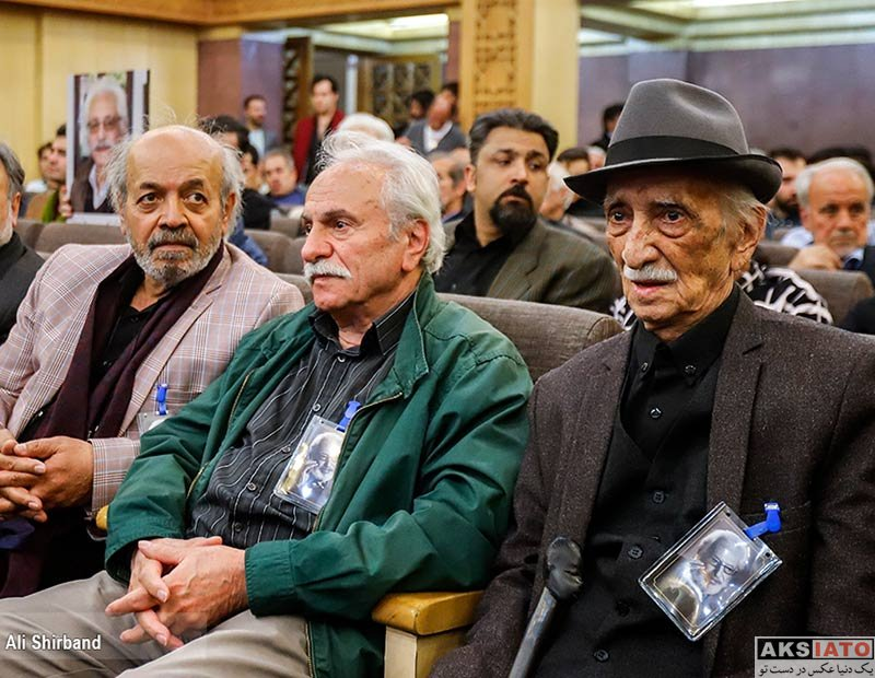 بازیگران فوت مشاهیر  مراسم ترحیم جمشید مشایخی با حضور هنرمندان (22 عکس)