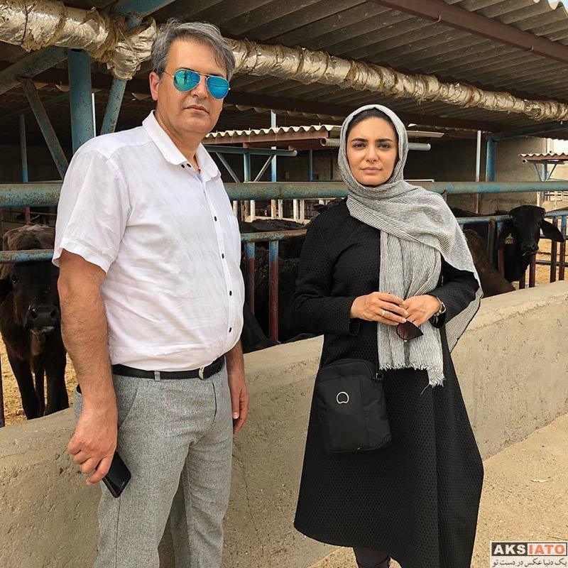بازیگران بازیگران زن ایرانی  عکس های جدید لیندا کیانی در اردیبهشت ماه 98 (10 تصویر)
