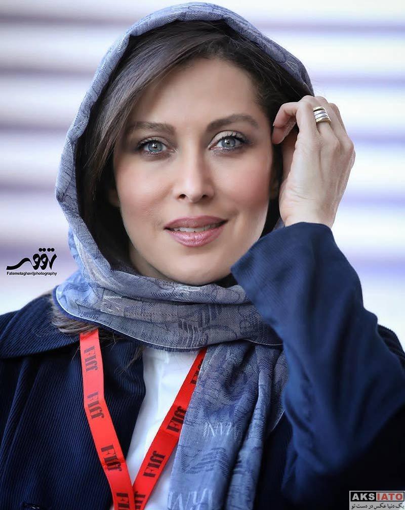 بازیگران جشنواره جهانی فیلم فجر  مهتاب کرامتی در سی و هفتمین جشنواره جهانی فیلم فجر (۴ عکس)