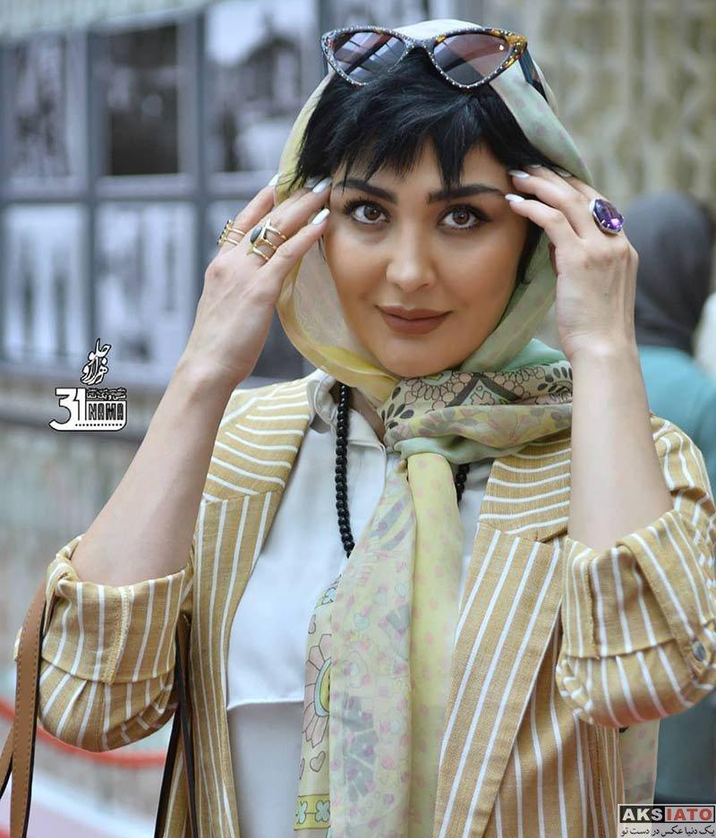 بازیگران بازیگران زن ایرانی  مریم معصومی در سی و هفتمین جشنواره جهانی فیلم فجر (6 عکس)