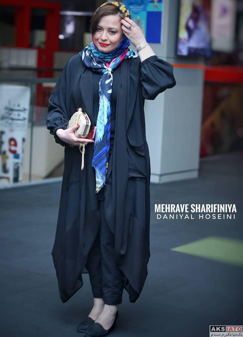 مهراوه شریفی نیا در سی و هفتمین جشنواره جهانی فیلم فجر (۴ عکس)