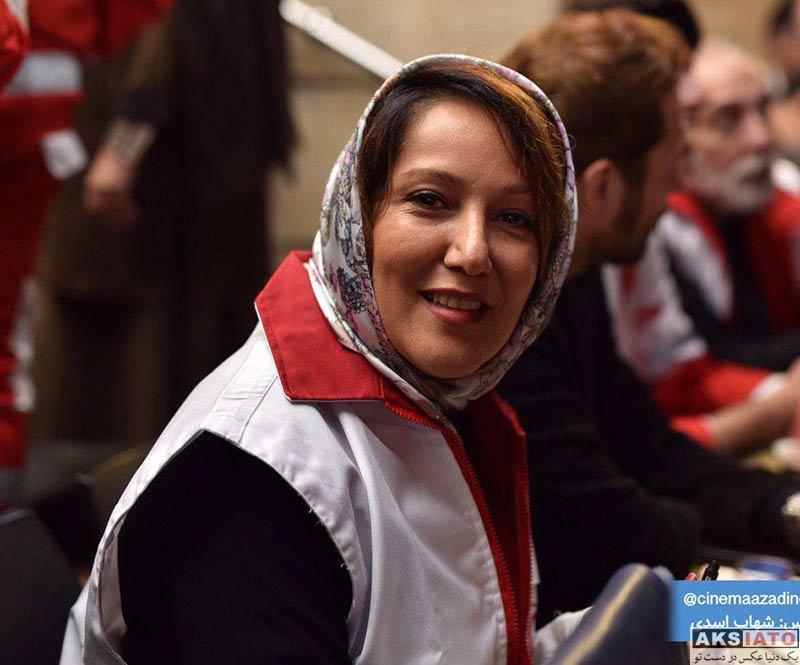بازیگران بازیگران زن ایرانی  پانته آ بهرام در مراسم جمع آوری کمک مالی برای سیل زدگان (۳ عکس)