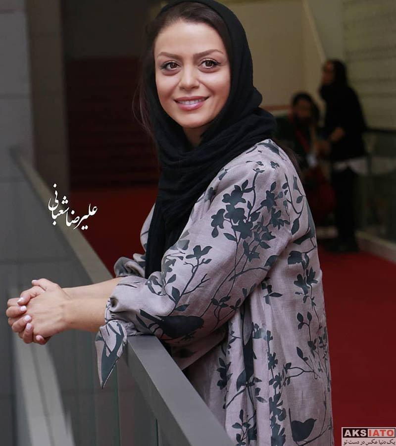 بازیگران بازیگران زن ایرانی جشنواره جهانی فیلم فجر  شبنم فرشادجو در سی و هفتمین جشنواره جهانی فیلم فجر (۶ عکس)