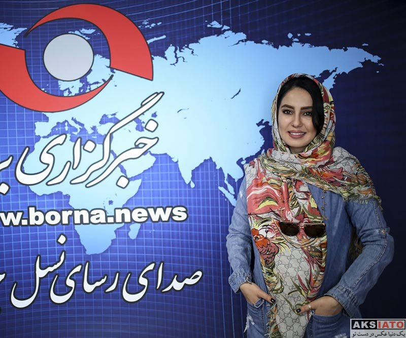 بازیگران بازیگران زن ایرانی  شیدا یوسفی بازیگر سریال نون خ در خبرگزاری برنا (۴ عکس)
