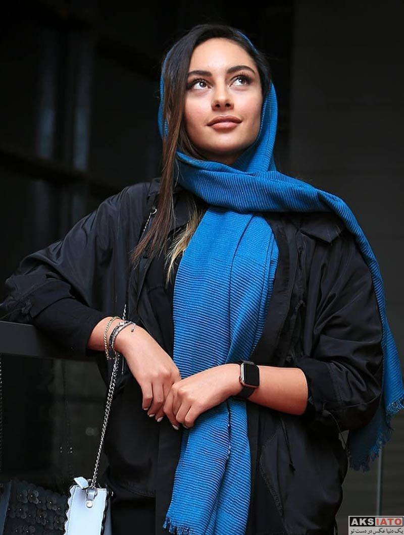 بازیگران بازیگران زن ایرانی جشنواره جهانی فیلم فجر  ترلان پروانه در روز هفتم 37مین جشنواره جهانی فیلم فجر (4 عکس)