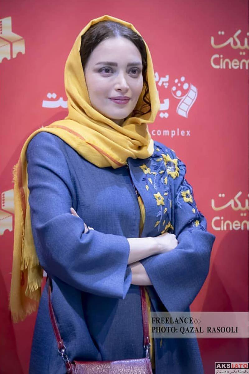 بازیگران بازیگران زن ایرانی  عکس های بهنوش طباطبایی در اکران مردمی فیلم «تختی» در مشهد