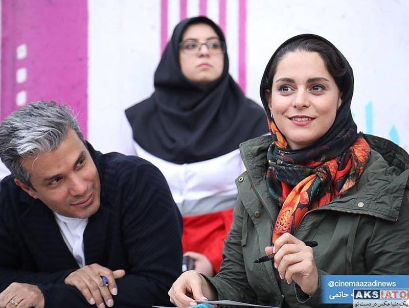 بازیگران بازیگران زن ایرانی  غزل شاکری در مراسم جمع آوری کمک مالی برای سیل زدگان (۴ عکس)