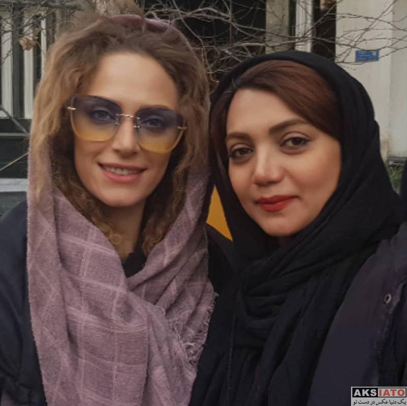 بازیگران بازیگران زن ایرانی  عکس های جدید نگین معتضدی در فروردین ماه 98 (8 تصویر)