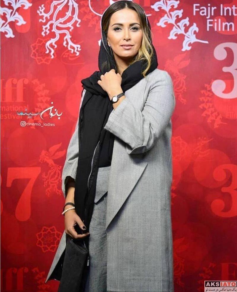 پاوان افسر در سی و هفتمین جشنواره جهانی فیلم فجر (3 عکس)