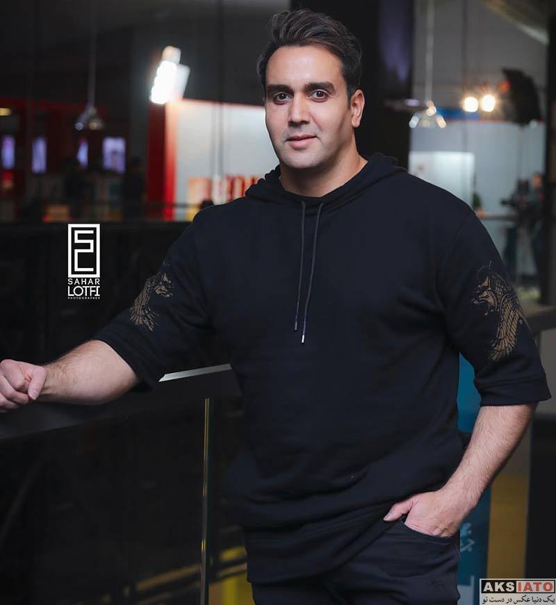 بازیگران جشنواره جهانی فیلم فجر  پوریا پورسرخ در سی و هفتمین جشنواره جهانی فیلم فجر (۴ عکس)