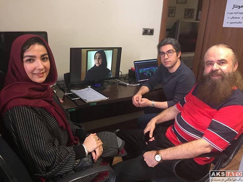 بازیگران بازیگران زن ایرانی  سارا صوفیانی بازیگر نقش سارا و آلما در سریال روزهای بیقراری 2 (6 عکس)