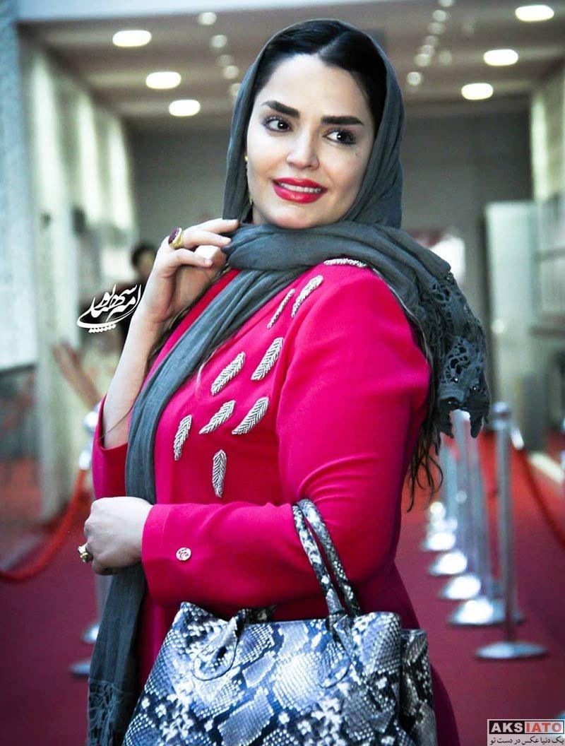 بازیگران جشنواره جهانی فیلم فجر  سپیده خداوردی در سی و هفتمین جشنواره جهانی فیلم فجر (۴ عکس)