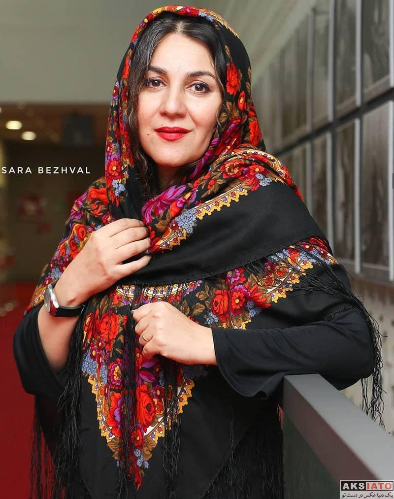 بازیگران جشنواره جهانی فیلم فجر  عکس های ستاره اسکندری در سی و هفتمین جشنواره جهانی فیلم فجر