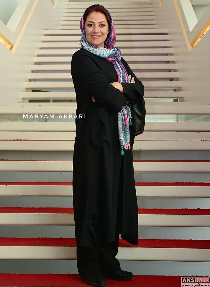 بازیگران بازیگران زن ایرانی جشنواره جهانی فیلم فجر  شبنم مقدمی در سی و هفتمین جشنواره جهانی فیلم فجر (4 عکس)